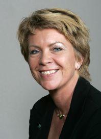 Ms Åslaug Haga. (Photo: Bjørn Sigurdsøn/Scanpix)